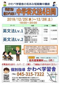 冬期講習20192